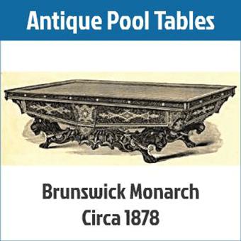 Antique Pool Tables - Billiards Supplies