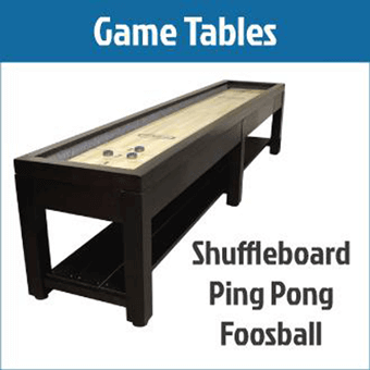 Game Tables - Billiards Supplies