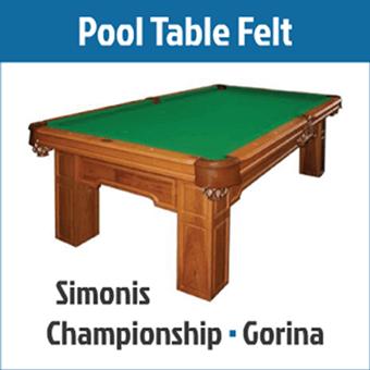 Pool Table Felt - Billiards Supplies