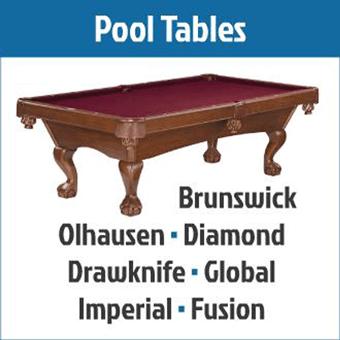 Pool Tables - Billiards Supples