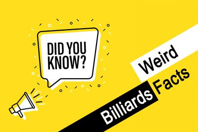 Buffalo Billiards' Weird Billiards Facts